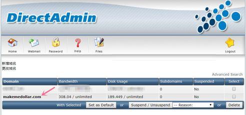 Scicube Domain setup