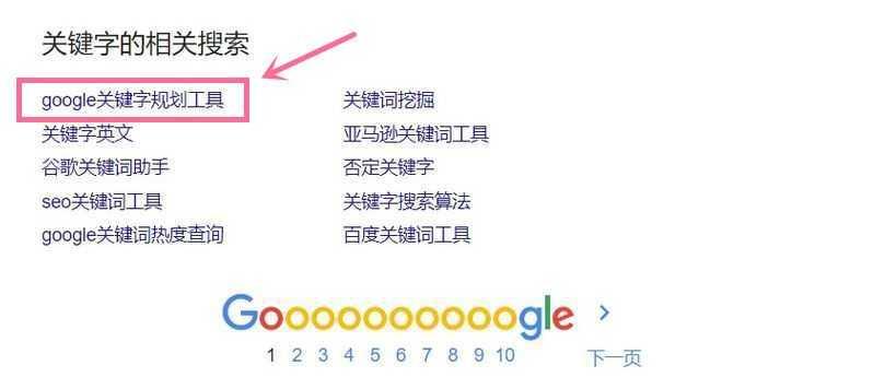 google correlation search by keyword
